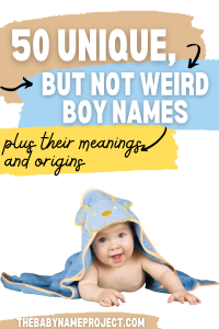 baby with unique boy name